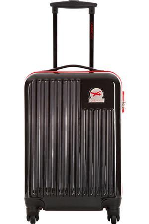 valise cabine size valise cabine 4 roues blessington noir rouge 23161201nr darty. Black Bedroom Furniture Sets. Home Design Ideas