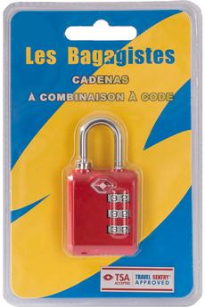 Accessoire soin du linge CADENAS TSA COMBINAISON CODE ROUGE Les Bagagistes