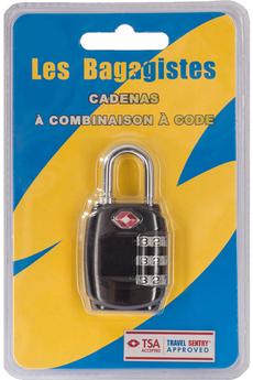 Accessoire soin du linge CADENAS COMBINAISON CODE NOIR Les Bagagistes