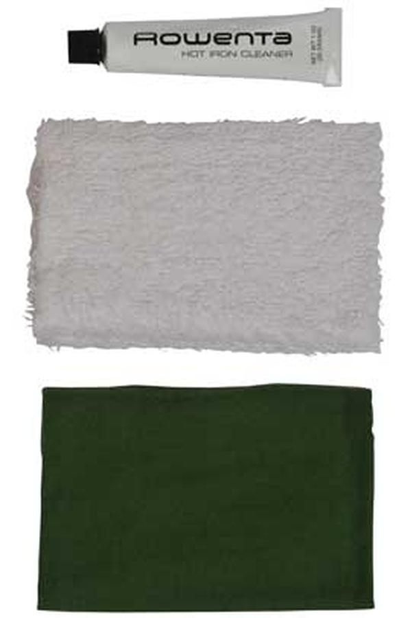 accessoire soin du linge rowenta kit nettoyant semelle fer kitnettoyantsemellefer 1310550. Black Bedroom Furniture Sets. Home Design Ideas