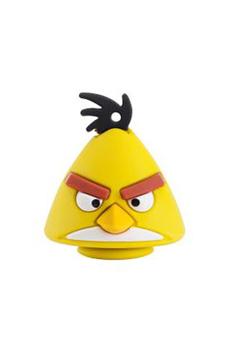 Clé USB ANGRY BIRD 4Go JAUNE Emtec