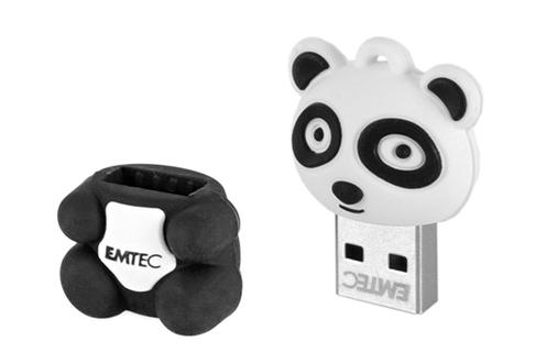 cl usb emtec panda 8go usb 2 0 panda 1370324. Black Bedroom Furniture Sets. Home Design Ideas