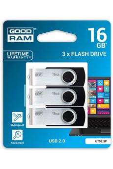 Clé USB Pack 3 clés USB 16 Go Goodram