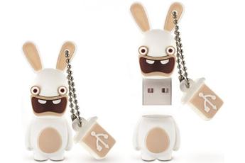 Clé USB LAPIN CRETIN 8GO USB 2.0 Integral