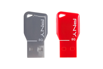 Clé USB PACK 2X 8GO USB 2.0 Pny