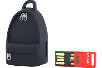 Clé USB TEENPAK-BLACK-8GB Ryval