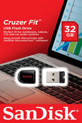 Clé USB Sandisk CRUZER FIT 32GB USB 2.0