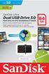 Sandisk DUALDRIVE 3.0 64GB photo 2