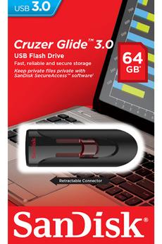 Clé USB GLIDE 64 GB 3.0 Sandisk
