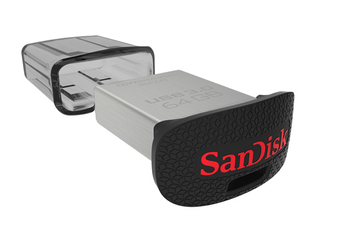 Clé USB Ultra Fit USB 3.0 Flash Drive 64 Go Sandisk