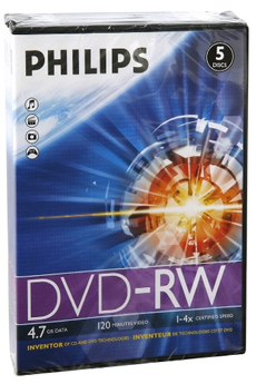 CD / DVD / Blu-Ray DVD-RW X5 Philips