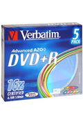CD / DVD / Blu-Ray Verbatim 5 DVD+R