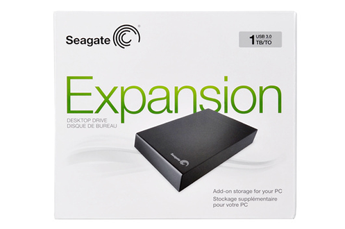 Seagate EXPANSION 1 To USB 3.0 / USB 2.0 NEW