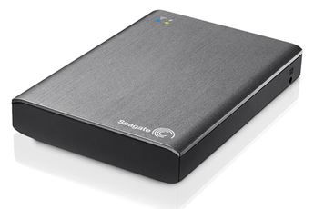 Disque dur réseau Wireless Plus 2,5'' 1To USB 3.0 / WiFi Seagate