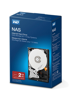 Disque dur interne DDIN RED NAS 2TB Wd