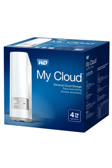 Disque dur réseau My Cloud 4To Ethernet / USB 3.0 Western Digital