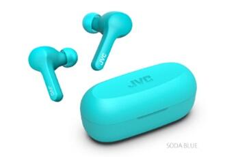 Kit piéton pour téléphone mobile Jvc True Wireless JVC HA-A7T Bleu