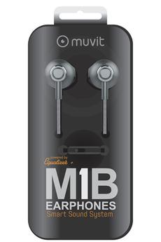 Kit piéton Avec microphone et commandes intégrés Fonctionne avec l'application Equalizer+ En aluminium