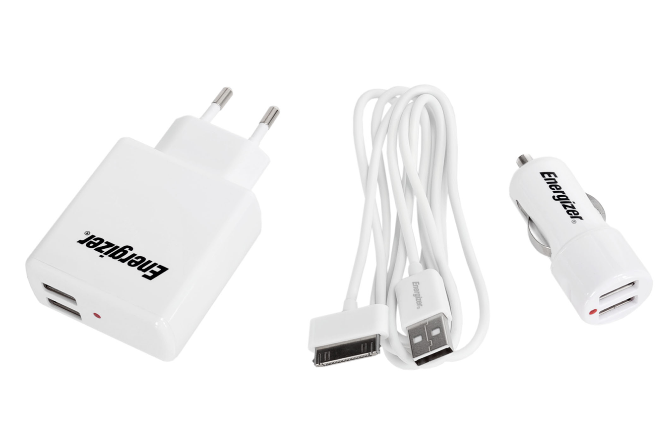 Chargeur pour iphone energizer pack allume cigare for Double allume cigare darty