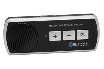 Kit main-libre / Kit Bluetooth KIT MAINS LIBRE BLUETOOTH NOIR Clevin