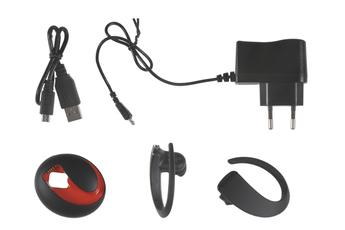 Oreillette Bluetooth Jabra Stone 3 avec Chargeur Portable, Noire, STONE3