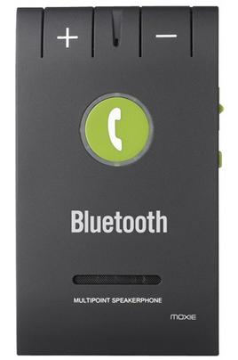 Kit voiture Bluetooth Jusqu'à 15 heures en communication Bluetooth 4.0 Réduction de bruit