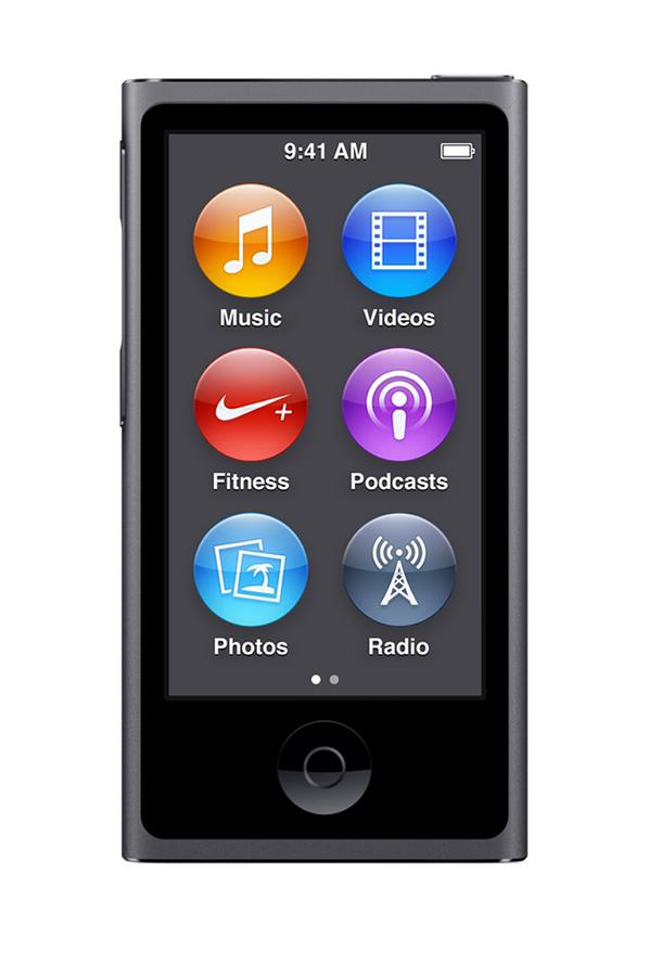 ipod nano apple ipod nano 16go space gray 4146743 darty. Black Bedroom Furniture Sets. Home Design Ideas