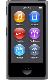 iPod nano IPOD NANO 16GO SPACE GRAY Apple