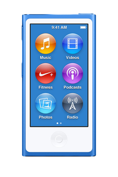 iPod nano IPOD NANO 16Go BLeu Apple