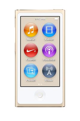"Baladeur audio / vidéo / Radio FM Capacité 16 GO Ecran tactile Multi Touch 2,5"" Bluetooth 4.0"
