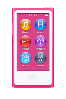 iPod nano IPOD NANO 16Go PINK Apple