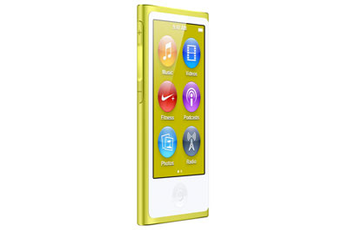 iPod nano NEW NANO 16GO JAUNE Apple