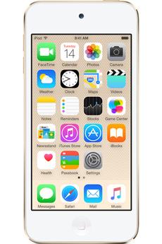 Lecteur audio vidéo MP3-MP4 Apple IPOD TOUCH VI 32Go GOLD