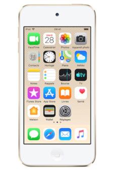 Lecteur audio vidéo MP3-MP4 Apple iPod touch 128GB Or