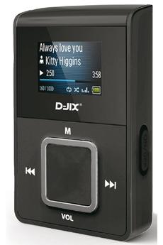 Lecteur audio MP3 C219 NOIR D-jix