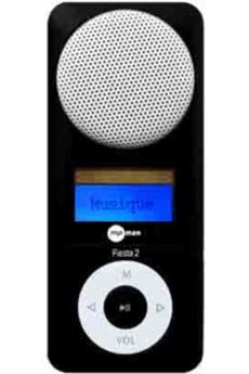 Lecteur audio vidéo MP3-MP4 Mpman FIESTA2/2GB NOIR