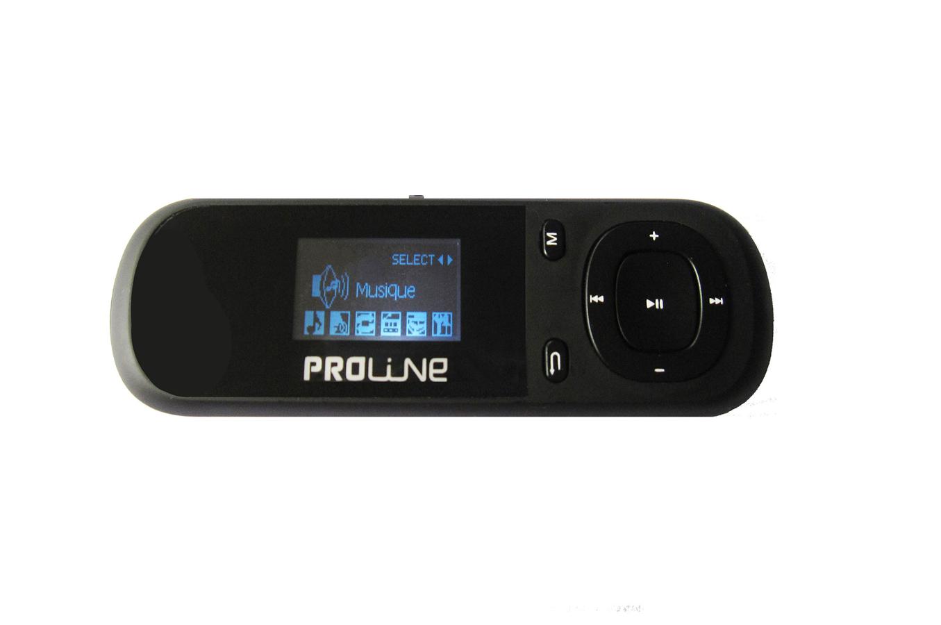 lecteur audio mp3 proline pl07 wom noir 1353632 darty. Black Bedroom Furniture Sets. Home Design Ideas