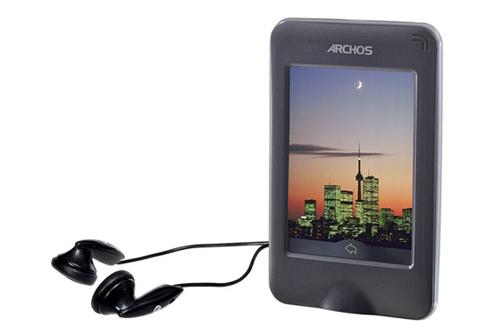 Lecteur audio vidéo MP3-MP4 28 VISION 4GO GRIS Archos