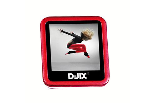 lecteur audio vid o mp3 mp4 d jix m 230 4go rouge 3681998. Black Bedroom Furniture Sets. Home Design Ideas