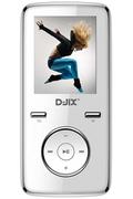 Lecteur audio vidéo MP3-MP4 D-jix M350 8GO FM BLANC