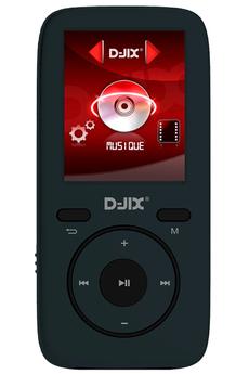 Lecteur audio vidéo MP3-MP4 D-jix M441 4GO NOIR