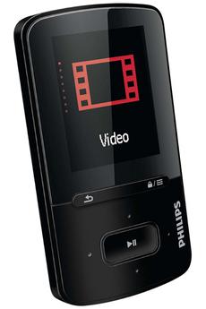 Lecteur audio vidéo MP3-MP4 VIBE GOGEAR 8GO Philips