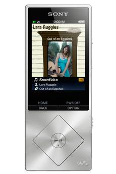 Lecteur audio vidéo MP3-MP4 NWZA15S.CEW METAL Sony
