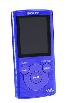 Lecteur audio vidéo MP3-MP4 NWZE384L.CEW BLEU Sony
