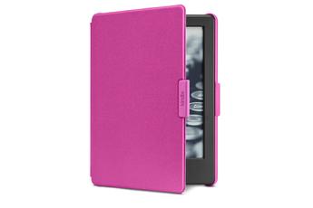 8e6f6554dbe01 Accessoires liseuses Etui à rabat magenta pour liseuse Kindle Amazon