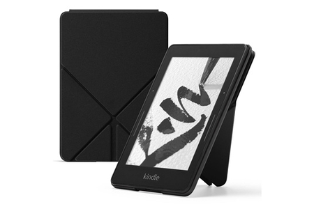 accessoires liseuses kindle etui origami noir pour kindle. Black Bedroom Furniture Sets. Home Design Ideas