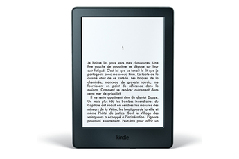 Liseuse eBook NOIR WIFI 4 GO NOUVELLE GENERATION Kindle