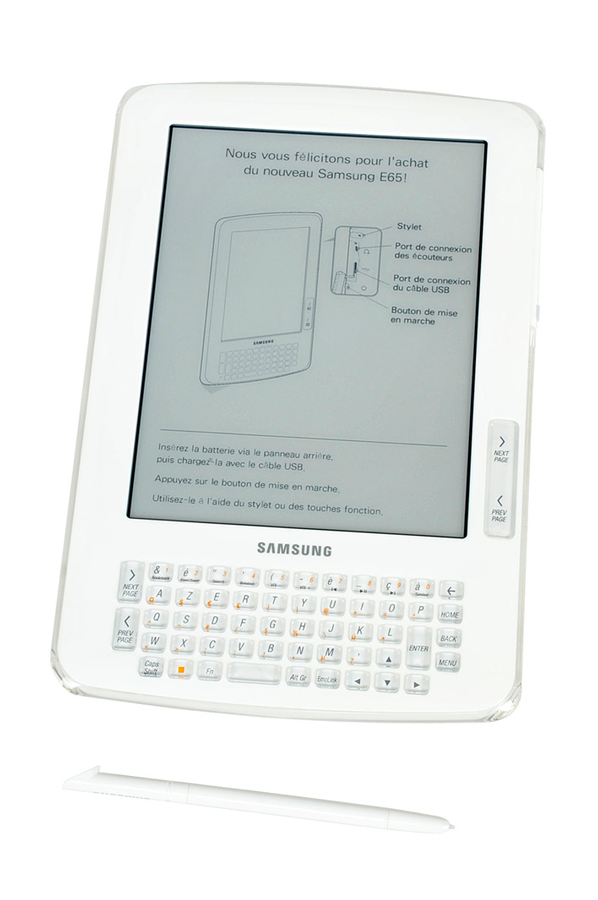 Liseuse eBook Samsung SNE65 (3341046) | Darty