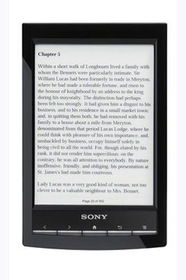 Sony PRS-T1 NOIR