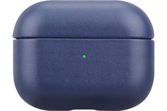 Accessoires audio Onearz Mobile Gear Etui en cuir véritable bleu pour AirPods Pro